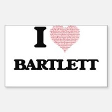 I Love Bartlett Decal