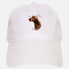 Irish Setter Mom2 Baseball Baseball Cap