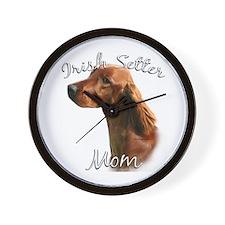Irish Setter Mom2 Wall Clock