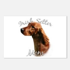 Irish Setter Mom2 Postcards (Package of 8)