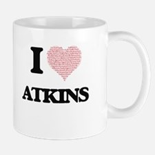 I Love Atkins Mugs