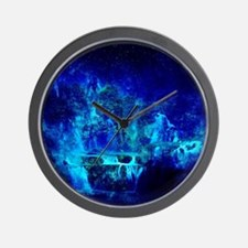 Cute Blue peter Wall Clock
