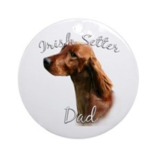 Irish Setter Dad2 Ornament (Round)