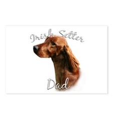 Irish Setter Dad2 Postcards (Package of 8)