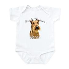 Irish Terrier Mom2 Infant Bodysuit
