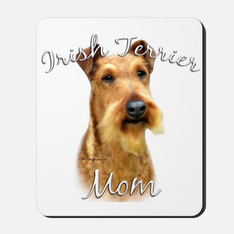 Irish Terrier Mom2 Mousepad