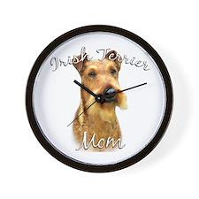 Irish Terrier Mom2 Wall Clock