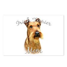 Irish Terrier Mom2 Postcards (Package of 8)