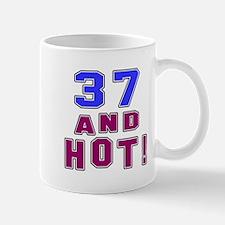 37 and hot birthday Mug