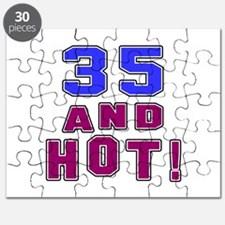 35 and hot birthday Puzzle