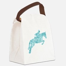 Funny Equine Canvas Lunch Bag