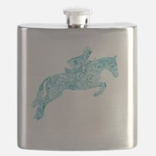 Unique Pink pony Flask