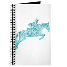 Doodle Horse Show Jumping Illustration Tur Journal