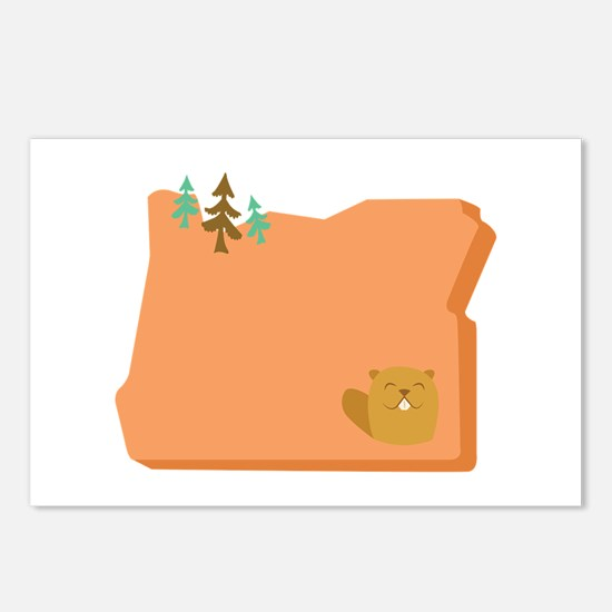 State Of Oregon Postcards (Package of 8)
