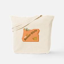 Beaver State Tote Bag