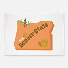 Beaver State 5'x7'Area Rug