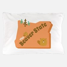 Beaver State Pillow Case