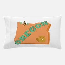 Beaver State Oregon Pillow Case