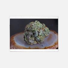 Grape Ape Medicinal Marijuana 5'x7'Area Rug