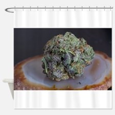 Grape Ape Medicinal Marijuana Shower Curtain