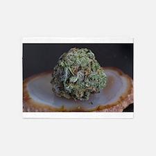 Grape Ape Medical Marijuana 5'x7'Area Rug