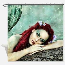Beautiful Mermaid Shower Curtain