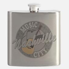 Nashville Music City-08-DK Flask