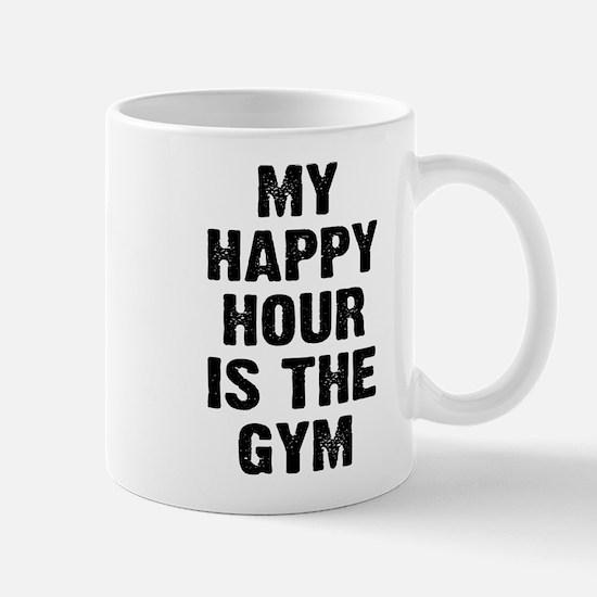 My happy hour is the gym Mug
