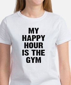 My happy hour is the gym Tee