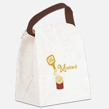 Mustard On Fries Canvas Lunch Bag