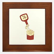 French Fries Framed Tile