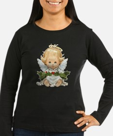Cute Christmas Baby Angel And Long Sleeve T-Shirt