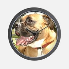 Jackson the Boxer Wall Clock 2