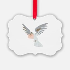 Carrier Pigeon Ornament