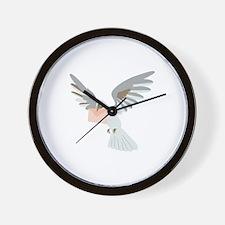 Carrier Pigeon Wall Clock