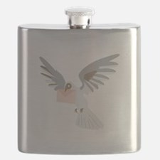 Carrier Pigeon Flask