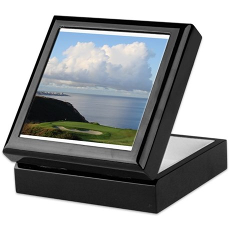 Golf Torrey Pines 3 South Keepsake Box