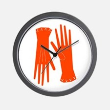 Ladies Gloves Wall Clock