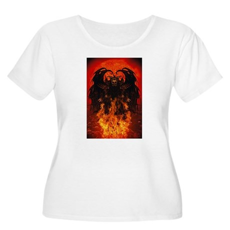 Angel of Death Women's Plus Size Scoop Neck T-Shir