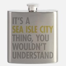 Sea Isle City Thing Flask