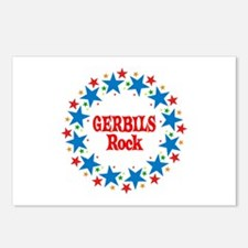 Gerbils Rock Postcards (Package of 8)