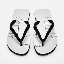 Funny Architect Flip Flops