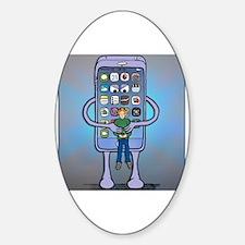 Siri Sticker (Oval)