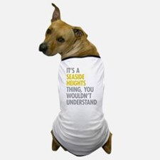 Seaside Heights Thing Dog T-Shirt