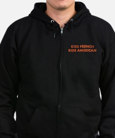 Cool Motorcycle indian Zip Hoodie