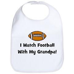 I Watch Football With My Gran Bib
