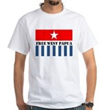 West papua Mens White T-shirts