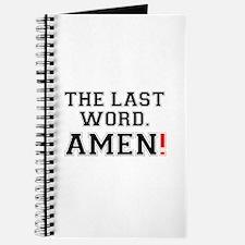 THE LAST WORD - AMEN! Journal
