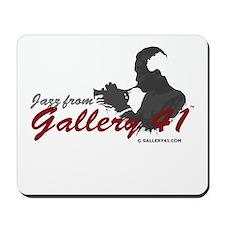 Jazz from Gallery 41 Logo Var Mousepad