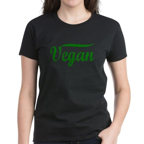 Vegan Women's Dark T-Shirt